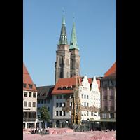 Nürnberg, St. Sebald, Doppeltürme