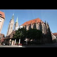 Nürnberg, St. Sebald, Ansicht vom Chor aus