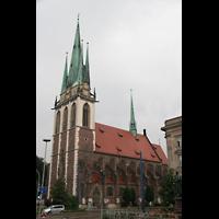 Ulm, St. Georg, Außenansicht von der Seite