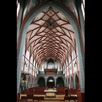Ulm, St. Georg, Blick vom Chor zur Orgel
