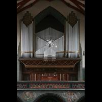 Ulm, St. Georg, Orgelprospekt