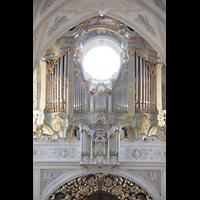 Polling, Stiftskirche St. Salvator und Heilig-Kreuz (Chororgel), Orgel