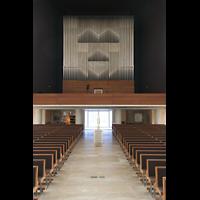 München, Herz-Jesu-Kirche, Orgelempore