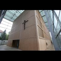 München, Herz-Jesu-Kirche, Vorraum mit Seitenumgängen
