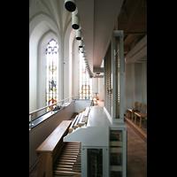 München (Haidhausen), St. Johann Baptist (kath.), Spieltisch und Orgel