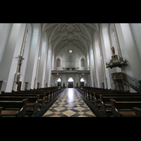 München (Haidhausen), St. Johann Baptist (kath.), Innenraum