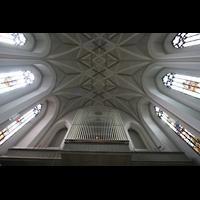 München (Haidhausen), St. Johann Baptist (kath.), Orgel und Deckengewölbe