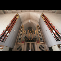 München, Mariahilf-Kirche (Hauptorgel), Prospekt der Hauptorgel perspektivisch