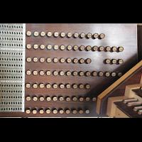 München, Mariahilf-Kirche (Hauptorgel), Registerstaffel