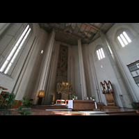 München, Mariahilf-Kirche (Hauptorgel), Chorraum