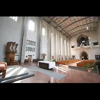 München, Mariahilf-Kirche (Hauptorgel), Chororgel und Hauptorgel