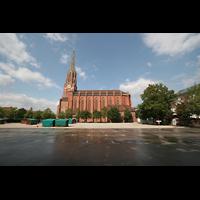 München, Mariahilf-Kirche (Hauptorgel), Mariahilfplatz und Kirche
