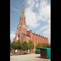 München, Mariahilf-Kirche (Hauptorgel), Außenansicht