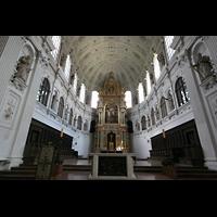 München, Jesuitenkirche St. Michael (ehem. Hofkirche), Chorraum