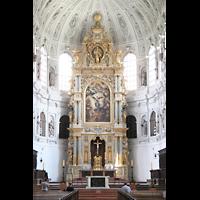 München, Jesuitenkirche St. Michael (ehem. Hofkirche), Chor mit Altar