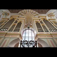 München, Bürgersaalkirche, Orgelprospekt perspektivisch