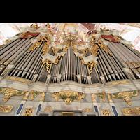 Fürstenfeldbruck, Klosterkirche (Hauptorgel), Prospekt der Hauptorgel