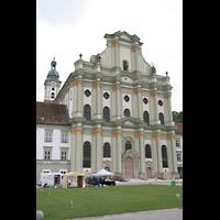 Fürstenfeldbruck, Klosterkirche (Hauptorgel), Außenansicht