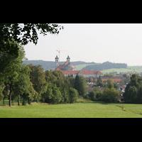 Ottobeuren, Abtei - Basilika (Heilig-Geist-Orgel), Abtei in der Landschaft