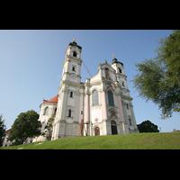 Ottobeuren, Abtei - Basilika (Heilig-Geist-Orgel), Außenansicht