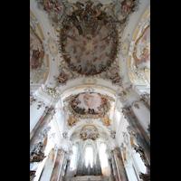 Ottobeuren, Abtei - Basilika (Heilig-Geist-Orgel), Marienorgel und Deckengemälde