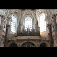 Ottobeuren, Abtei - Basilika (Heilig-Geist-Orgel), Orgelempore