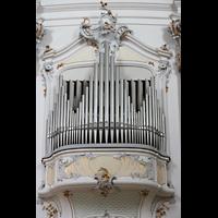 Ottobeuren, Abtei - Basilika (Heilig-Geist-Orgel), Rechte Balkonorgel (Schwellwerk)