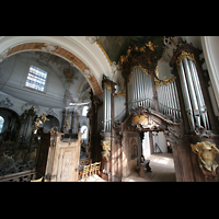 Ottobeuren, Abtei - Basilika (Heilig-Geist-Orgel), Dreifaltigkeitsorgel und Heilig-Geist-Orgel