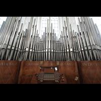 Ottobeuren, Abtei - Basilika (Heilig-Geist-Orgel), Marienorgel mit Spieltisch