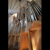 Memmingen, St. Martin, Orgel perspektivisch