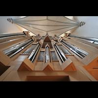 Memmingen, St. Martin, Orgelprospekt perspektivisch