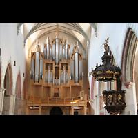 Memmingen, St. Martin, Orbelempore