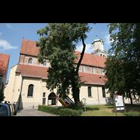 Memmingen, St. Martin, Außenansicht