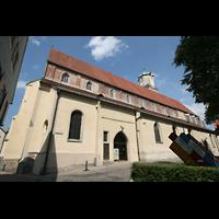 Memmingen, St. Martin, Seitenansicht