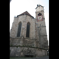 Memmingen, St. Martin, Turm und Chor