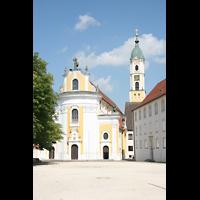 Ochsenhausen, Klosterkirche St. Georg (Hauptorgel), Außenansicht
