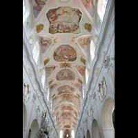 Ochsenhausen, Klosterkirche St. Georg (Hauptorgel), Deckengemälde