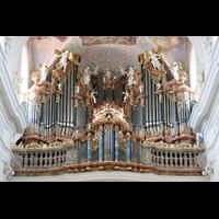 Ochsenhausen, Klosterkirche St. Georg (Hauptorgel), Große Orgel