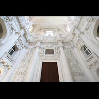 München (Munich), Theatinerkirche St. Katejan, Portalwand