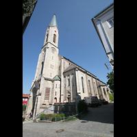 Waldkirchen, St. Peter und Paul (''Bayernwalddom''), Außenansicht