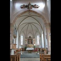 Waldkirchen, St. Peter und Paul (''Bayernwalddom''), Chorraum