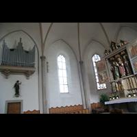 Waldkirchen, St. Peter und Paul (''Bayernwalddom''), Chororgel und Hochaltar