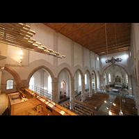 Waldkirchen, St. Peter und Paul (''Bayernwalddom''), Chamaden mit Blick in die Kirche