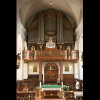 Linz, Stadtpfarrkirche, Orgelempore