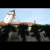 Linz, Stadtpfarrkirche, Seitenansicht