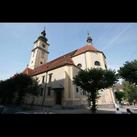 Linz, Stadtpfarrkirche, Außenansicht