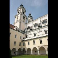 St. Florian (bei Linz), Stiftskirche, Innenhof