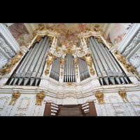 St. Florian (bei Linz), Stiftskirche, Hauptorgel und Spieltisch