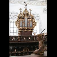 St. Florian (bei Linz), Stiftskirche, Linke Chororgel