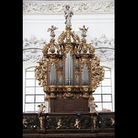 St. Florian (bei Linz), Stiftskirche, Prospekt der linken Chororgel